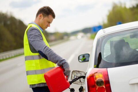 fuel refilling roadside